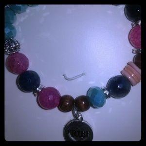 """Tribe"" charm bracelet"